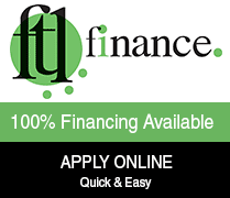 Financing available - apply online